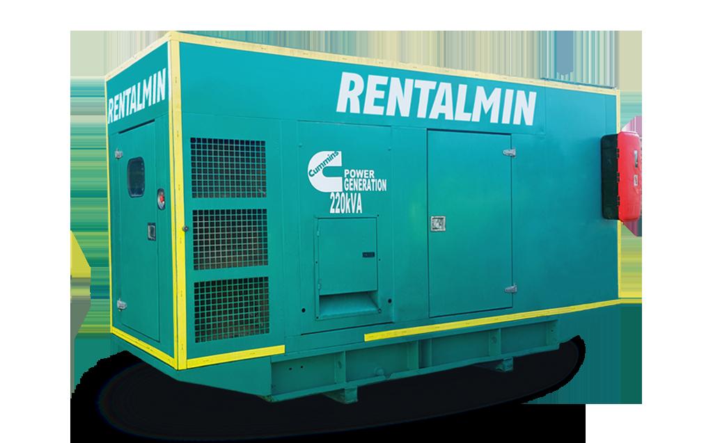 Generador Eléctrico 220kVA